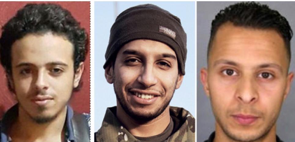 171115 Challenges Samy Amimour, Bilal Hadfi, Abdelhamid Abaaoud et Salah Abdeslam